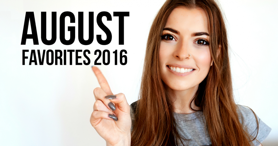 AUGUST FAVORITES 2016 – ENGLISH VIDEO
